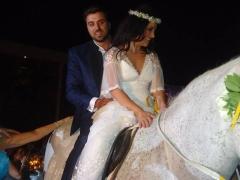 γάμος και βάπτιση με άμαξα
